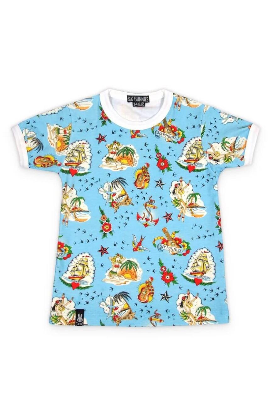Tee shirt enfant aloha