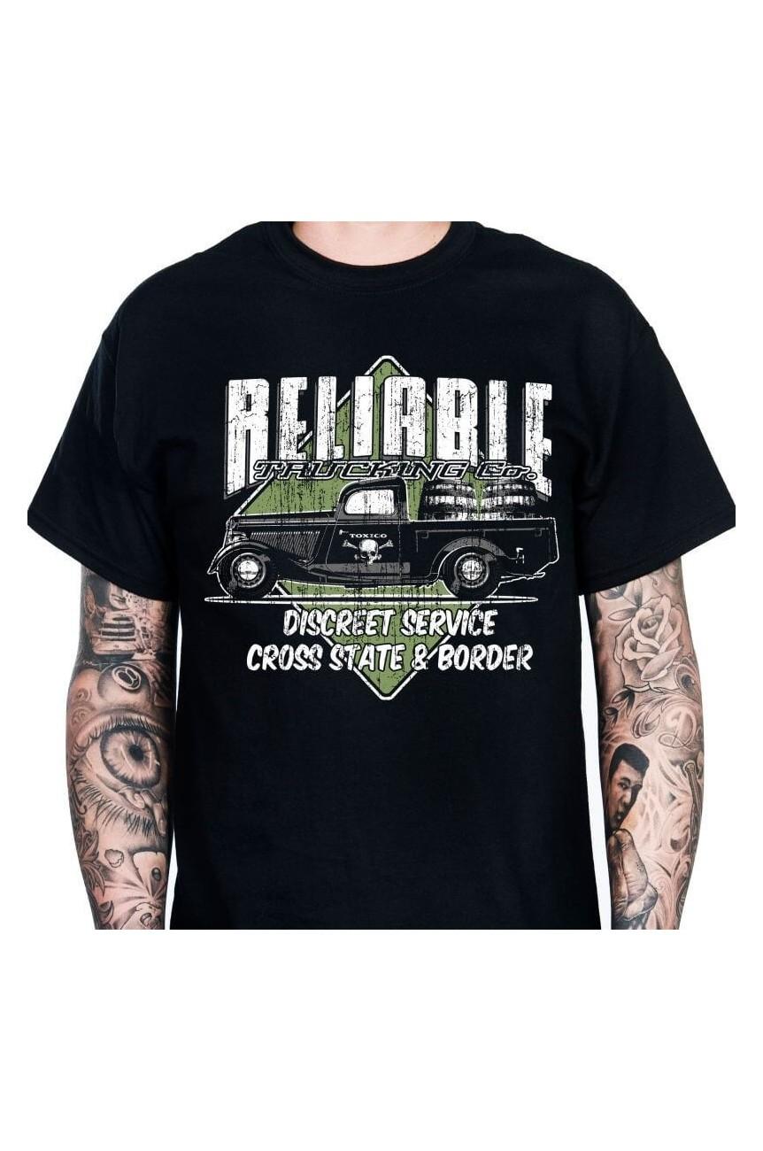 Tee shirt pickup americain