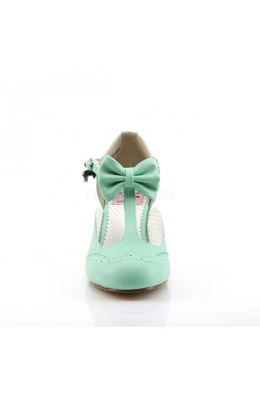 Chaussures vert vintage