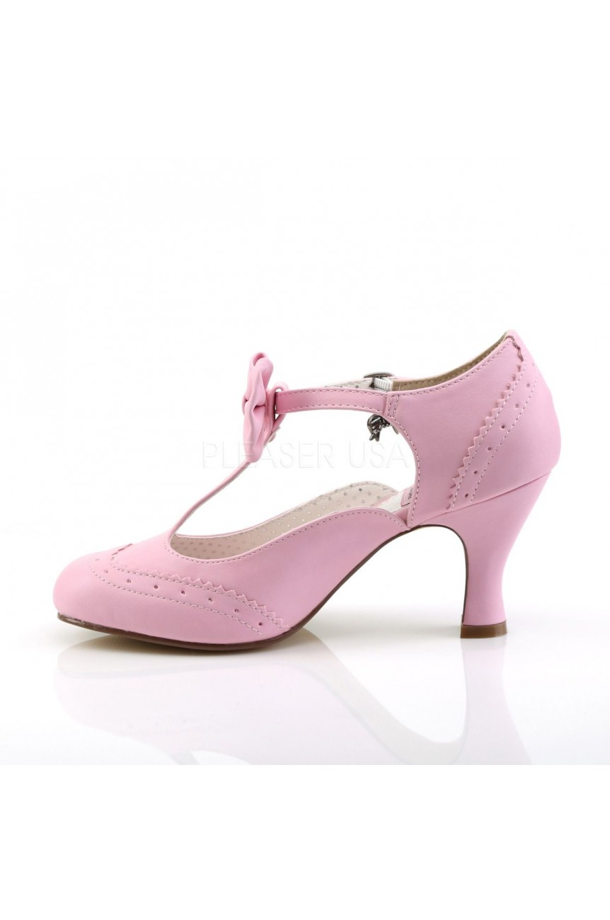Chaussures rose pinup