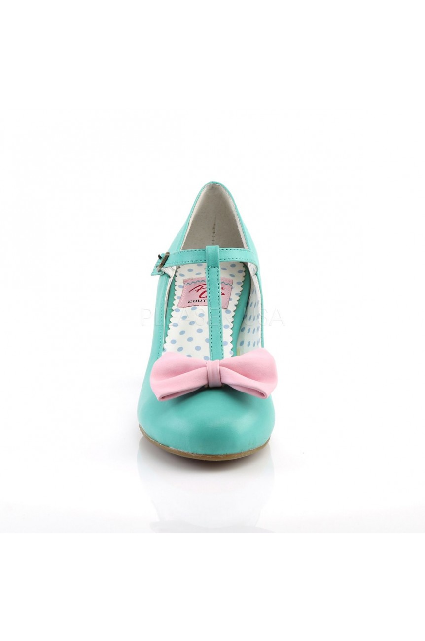 Chaussures vintage wiggle 50 menthe
