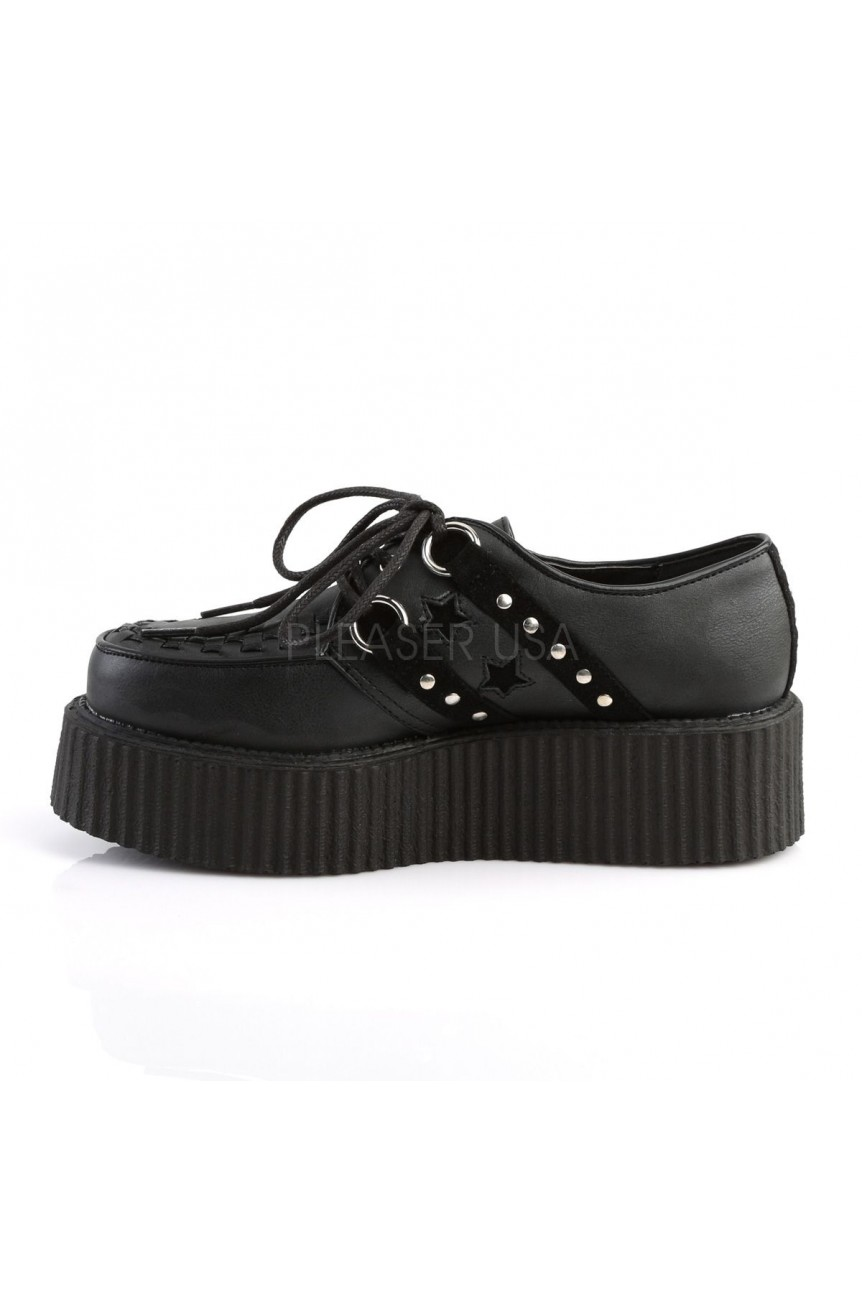 Creepers rockabilly compensées