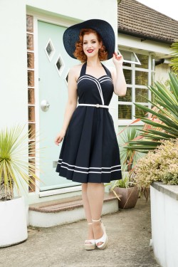 Robe sailor vintage