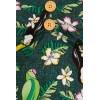 Robe motif tropical