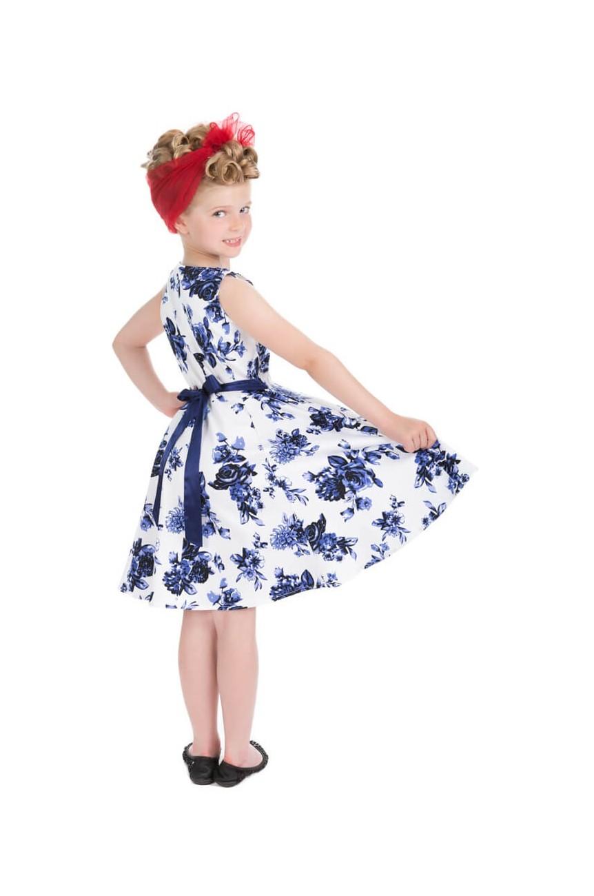 Robe vintage pinup enfant