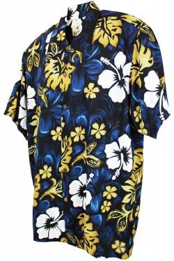 Chemise a fleurs pour homme