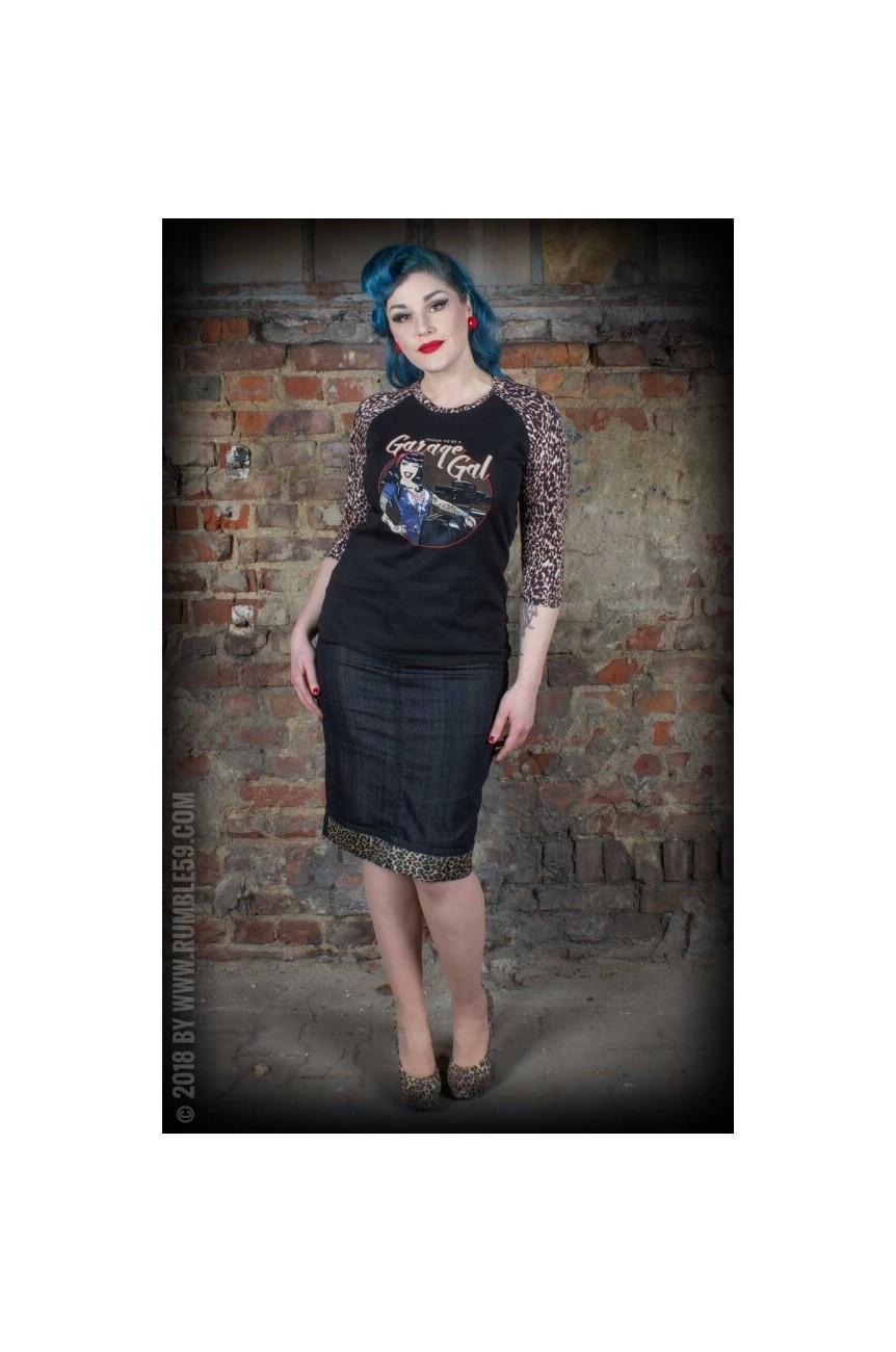 Tee shirt leopard femme