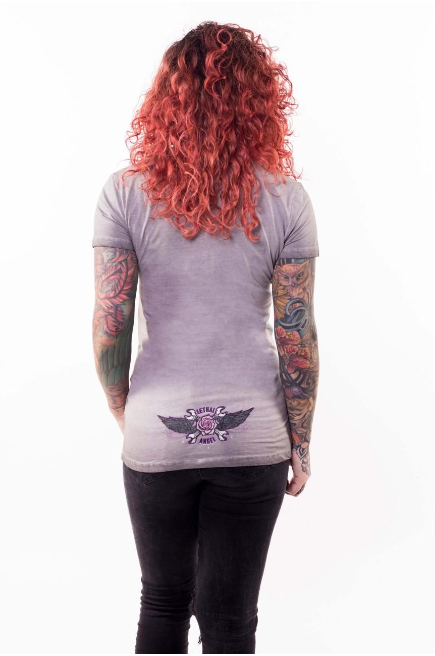 Tee shirt rockabilly femme