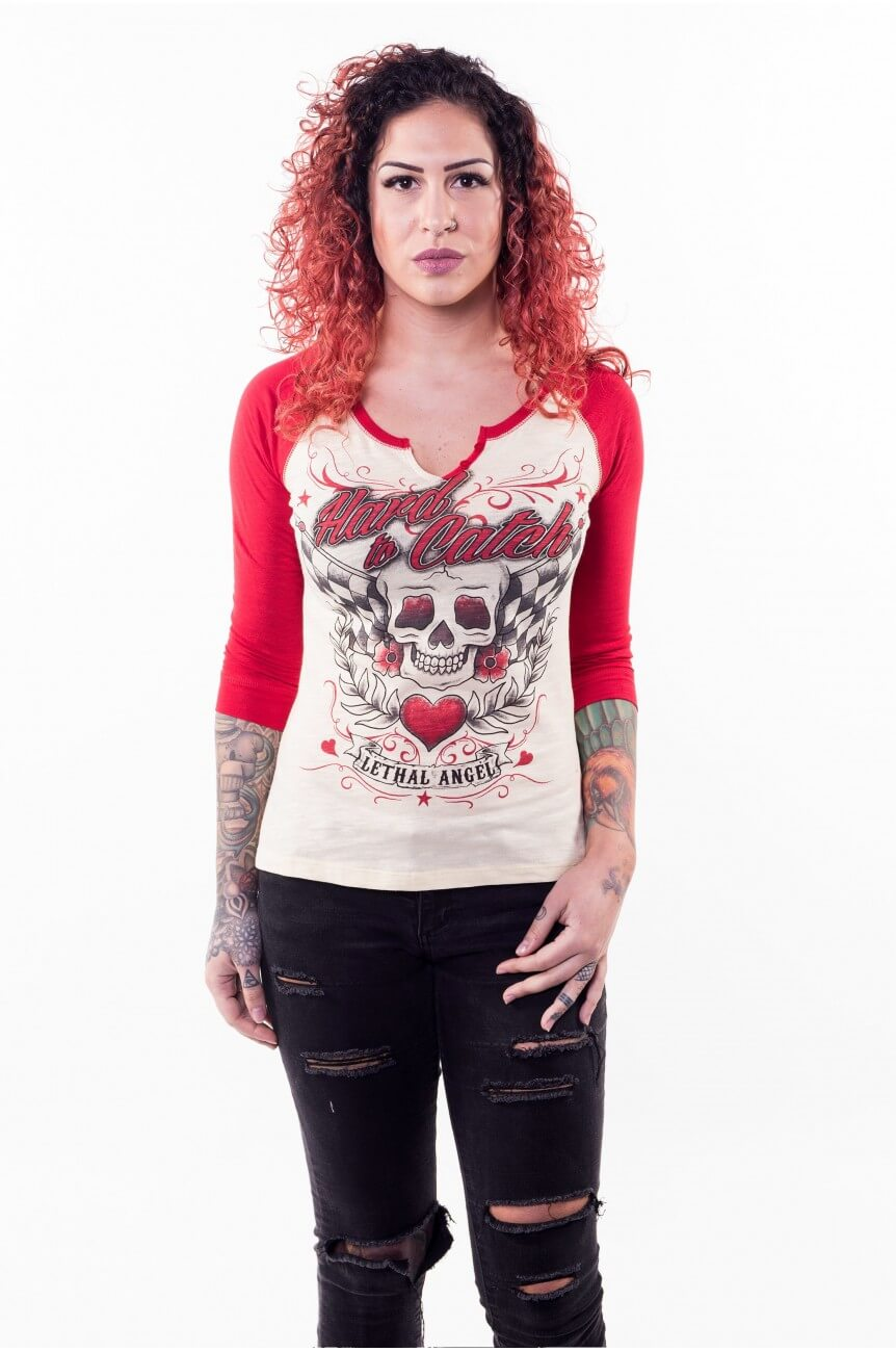 Tee shirt raglan femme custom