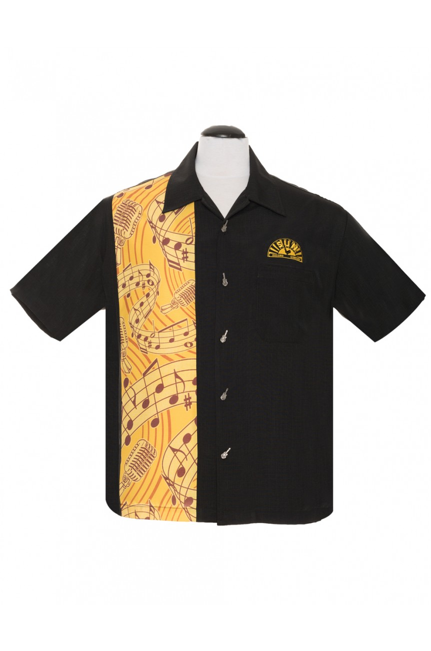 CHEMISE SUN RECORDS-Steady clothing