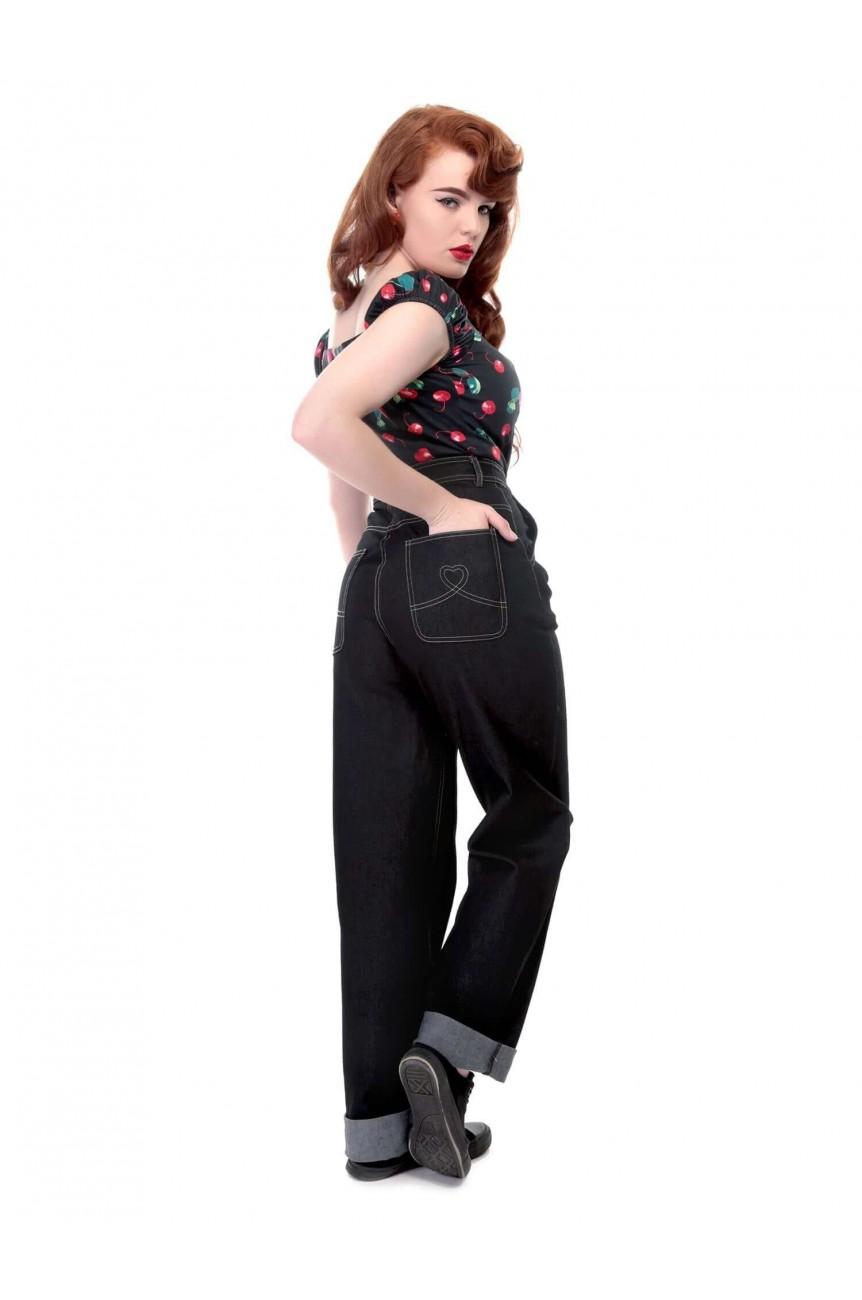 Jean taille haute collectif vintage