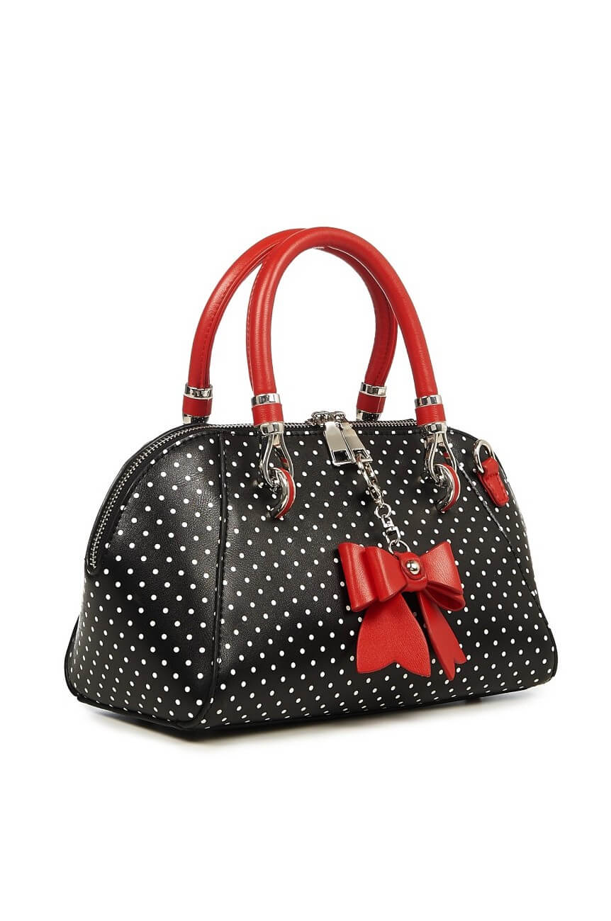 Sac a pois pin up vintage