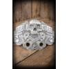 Boucle de ceinture tete de mort-Rumble59