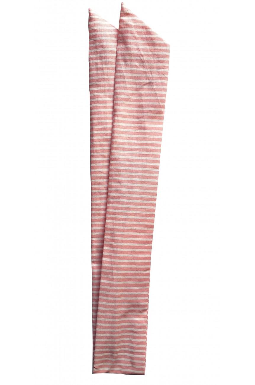 Bandeau année 60 rayé rose
