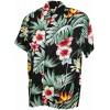 Chemise hawaïenne hibiscus et strelitzia