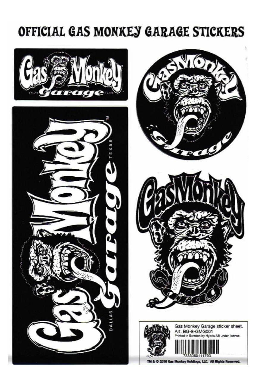 Autocollant Gas Monkey Garage
