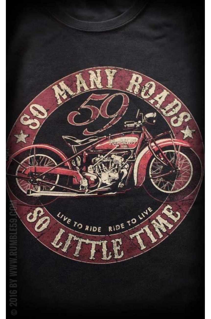 Tee shirt chopper rumble59