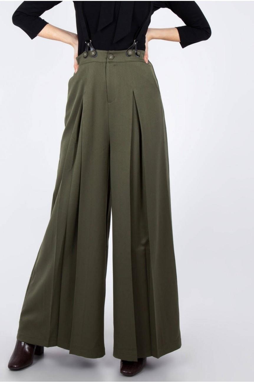 Pantalon année 40 taille haute