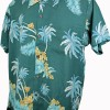 Chemise aloha homme teal