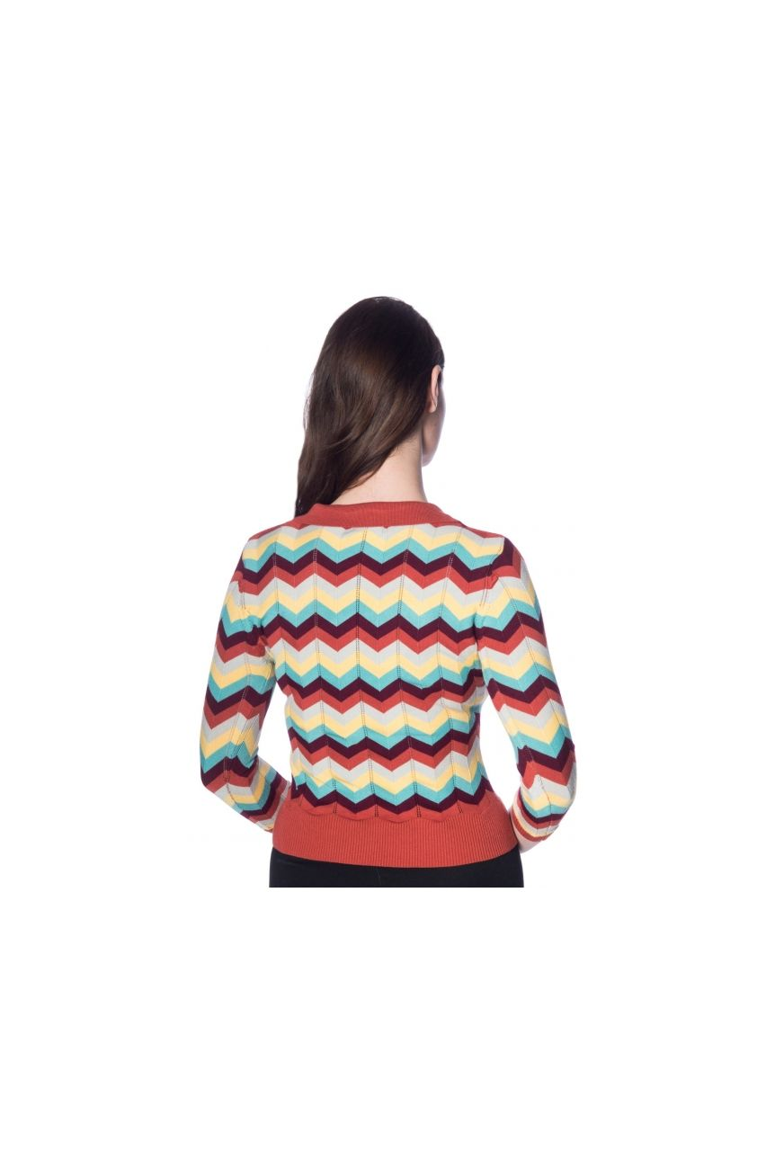Pull vintage chevrons Banned