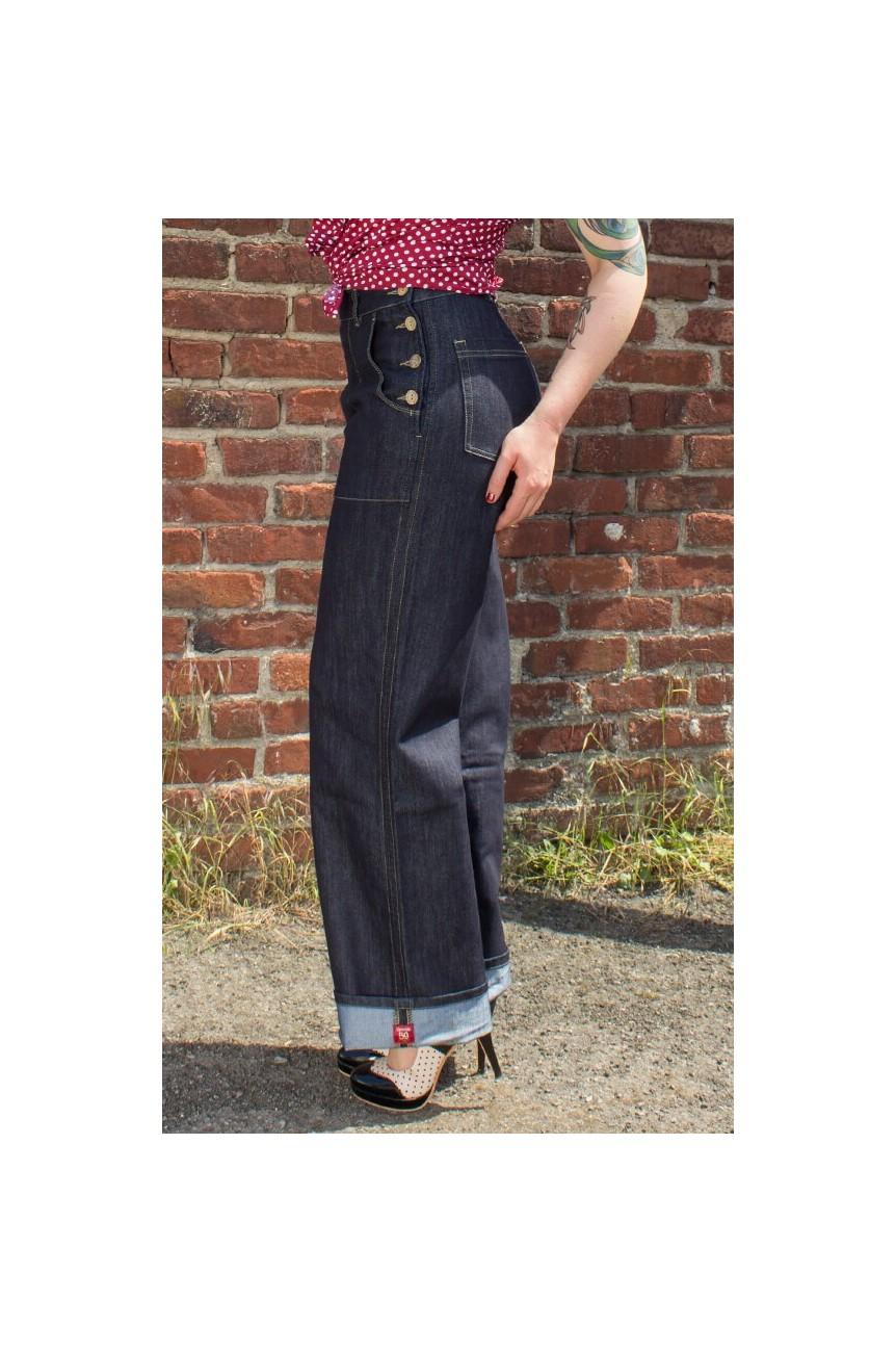 Jeans rockabilly femme Rumble59