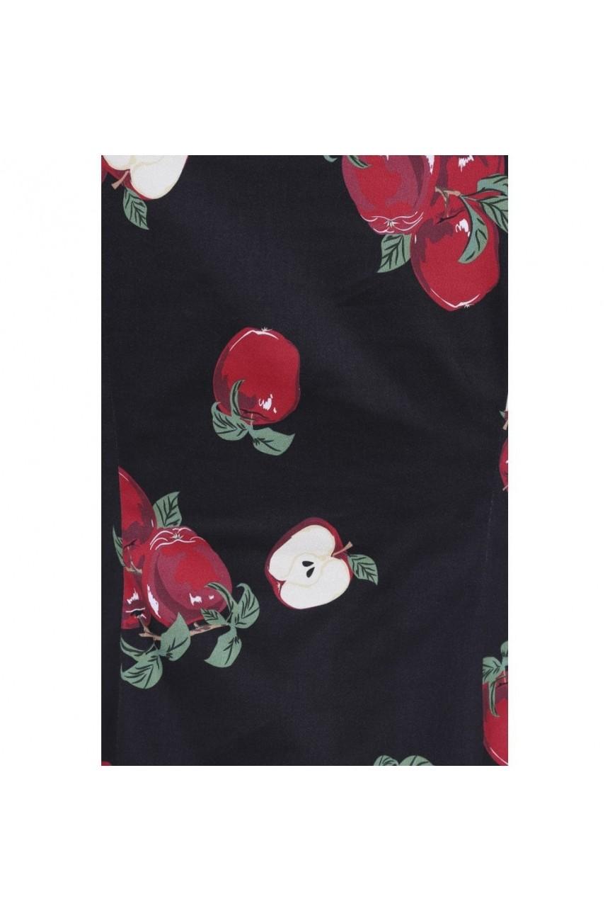 Haut pin-up imprimé pommes Collectif clothing