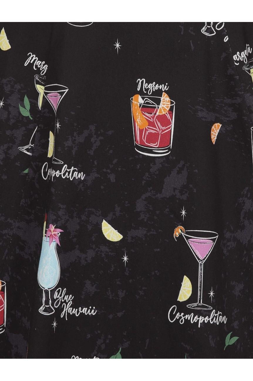 Jupe patineuse moti cocktail vintage