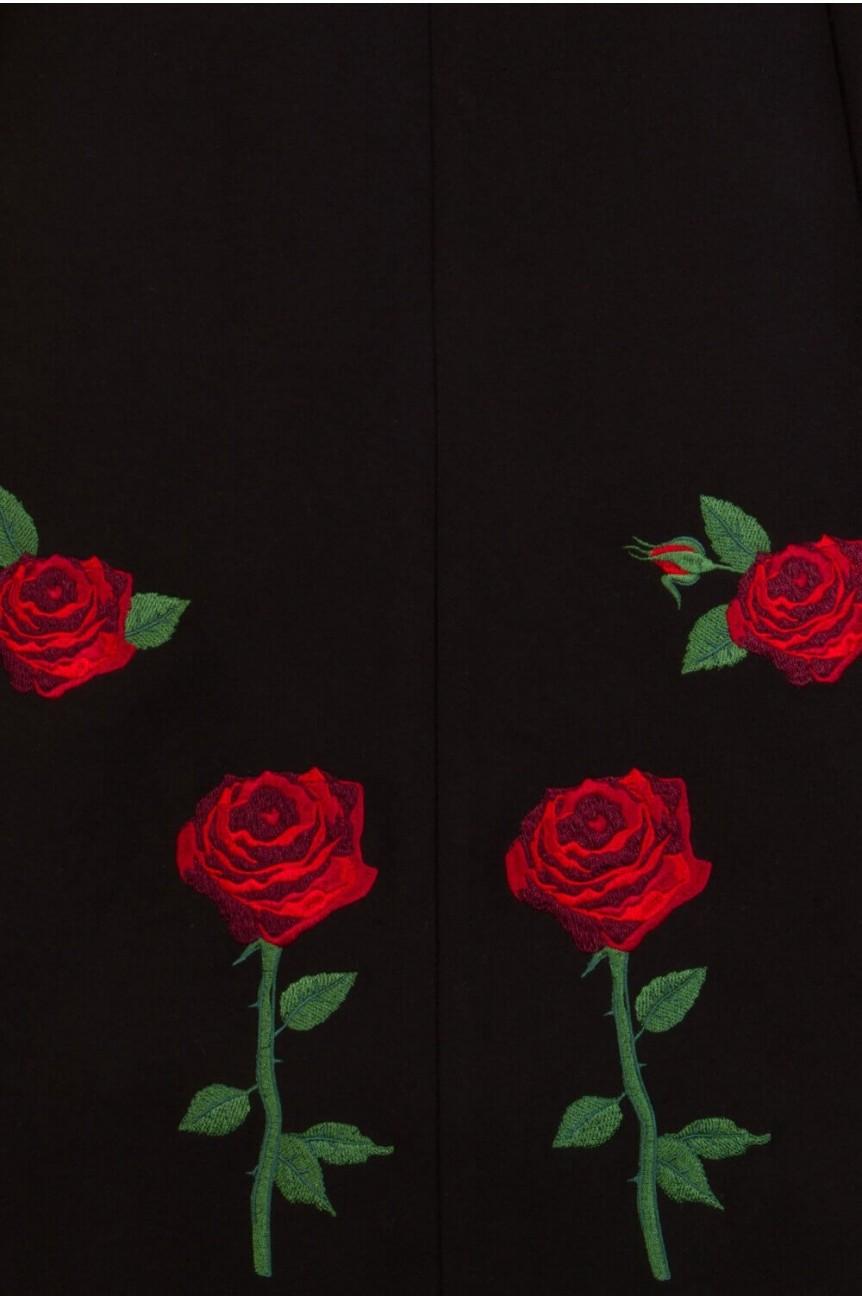 Manteau Hell Bunny Rosa rossa