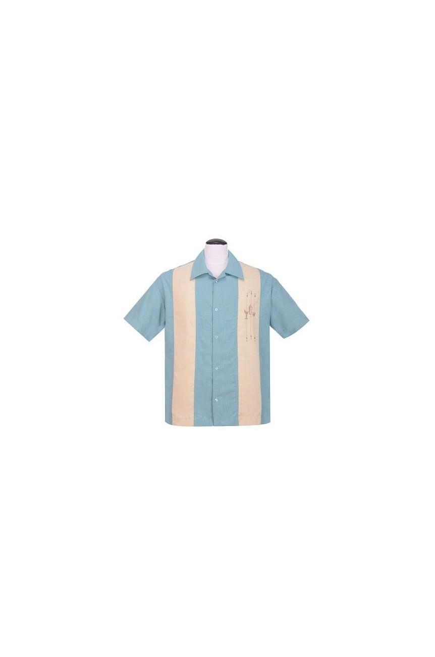 Chemise shaker rockabilly steady clothing