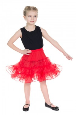 Jupon rouge vintage enfant
