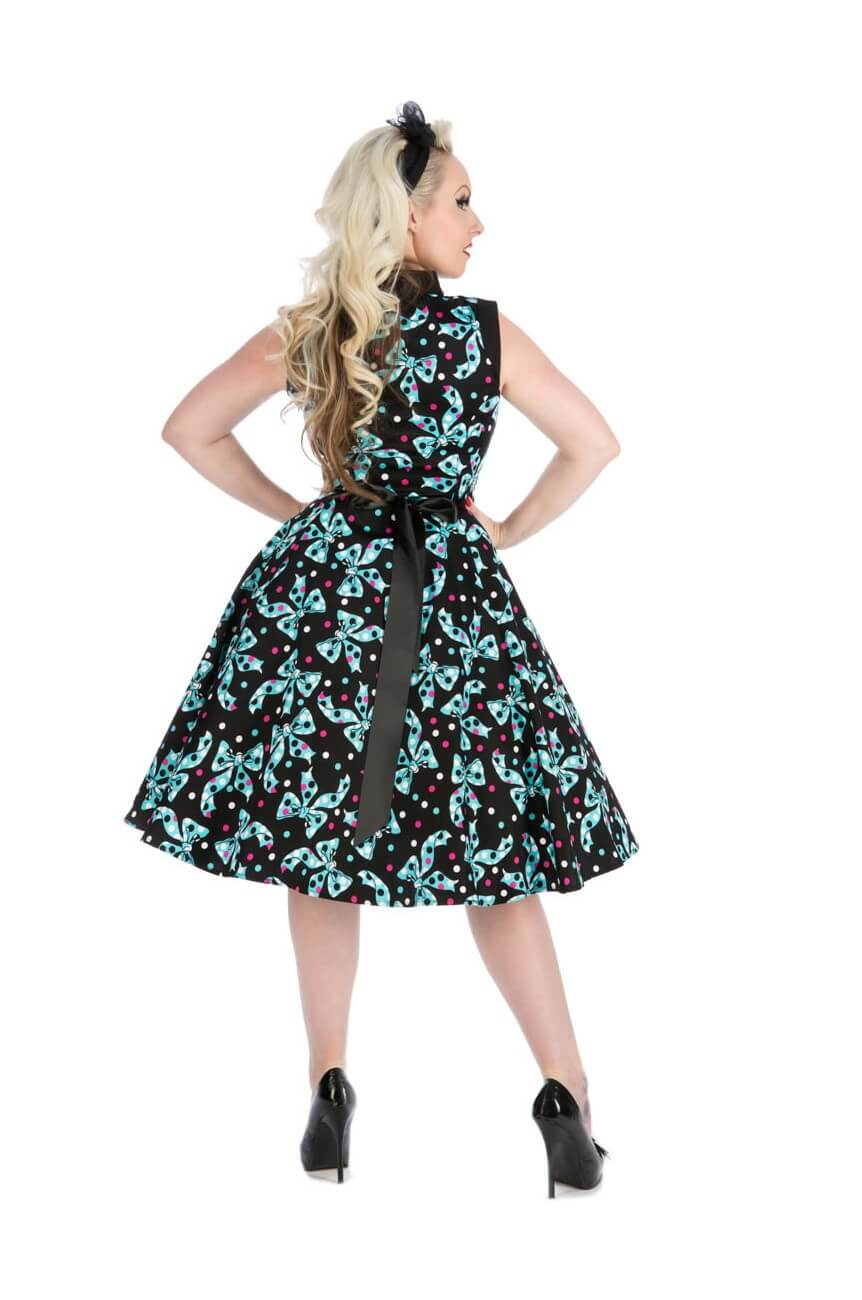 Robe fifties longue