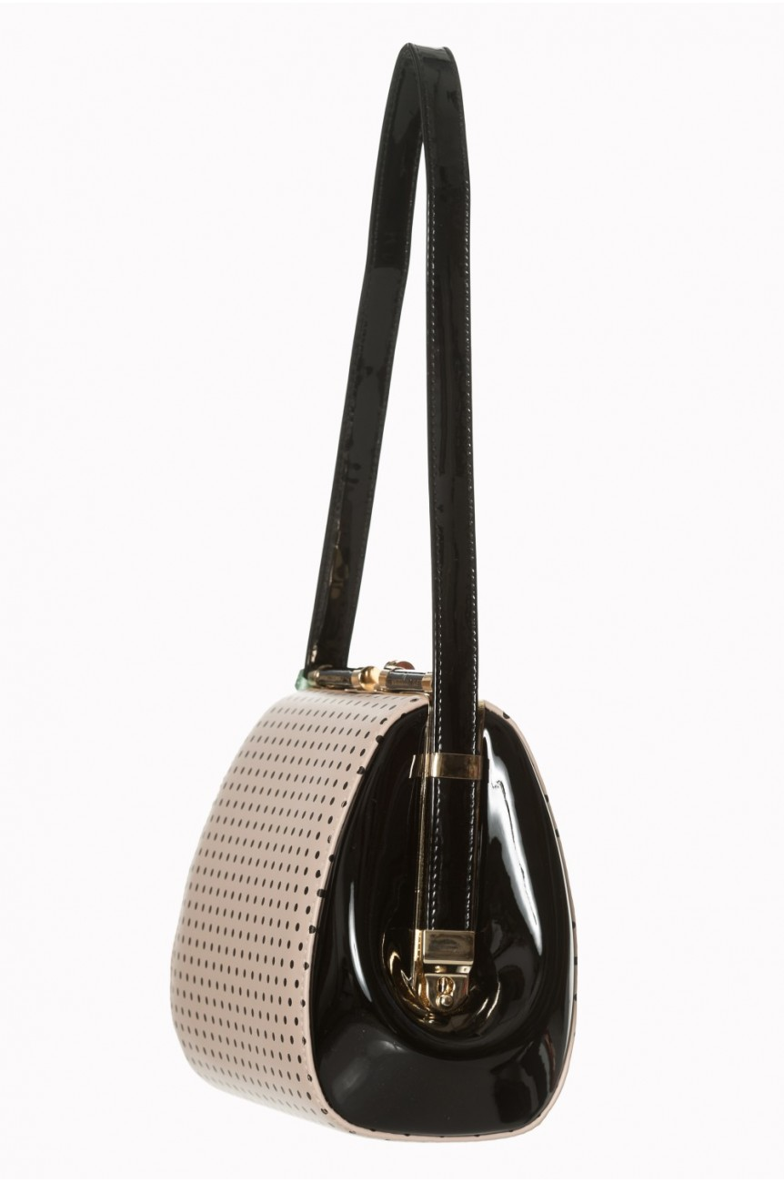 Sac vintage pin up a pois