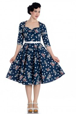 Robe sailor manches 3/4