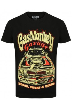 Tee shirt Gas monkey garage camaro