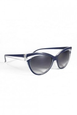 Lunettes pin up bleues